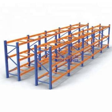 Movable Space Saving Detachable Powder Coated Metal Industrial Warehouse Steel warehouse pallet rack