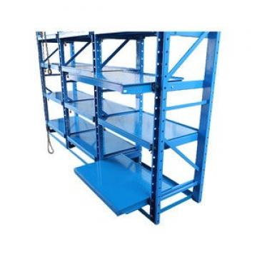 cold rolled steel supermarket warehouse rack with metal sheet shelf