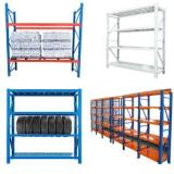heavy duty 4 layers industrial warehouse steel storage shelves shelving