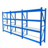 Light-duty slotted angle warehouse rack/industrial shelf/storage shelving rack