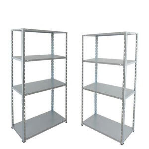 Slotted perforated metal shelving used storage racks #1 image
