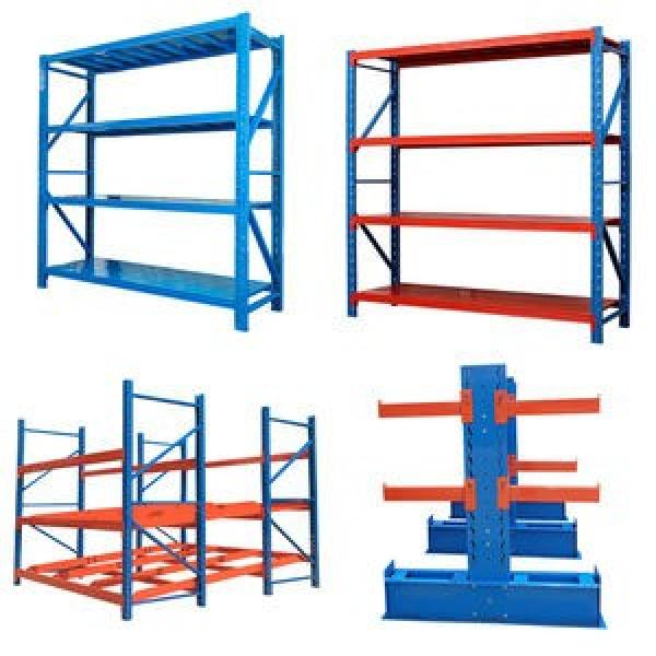 Heavy duty industrial folding durable stacking pallet rack #3 image