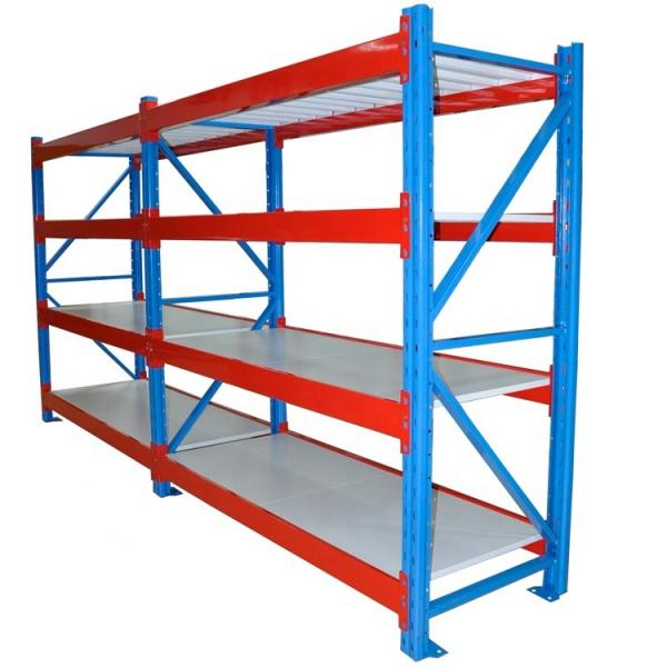 China factory hot selling stocking space welded hanging wire mesh steel warehouse storage pallet rack dividers #2 image