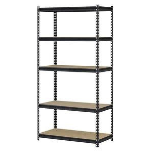 Heavy Duty Warehouse Storage Shelving Rack Manufacture Industrial Metal Shelf Steel Bolt Pallet Racking Systems #3 image