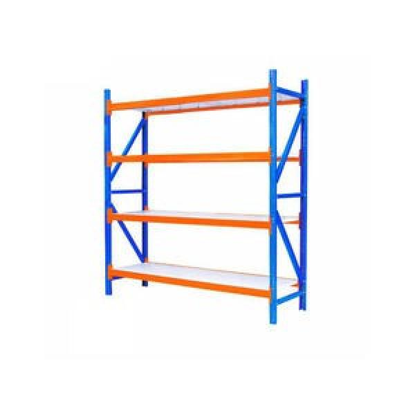 Heavy duty industrial folding durable stacking pallet rack #2 image