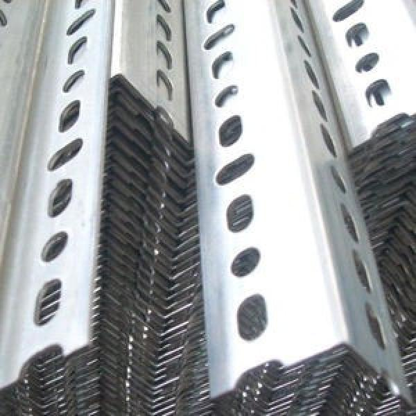 Ms Perforated L Shape Steel Bar BS En S355jr S355j0 Galvanized Slotted Steel Anglel Bar #3 image