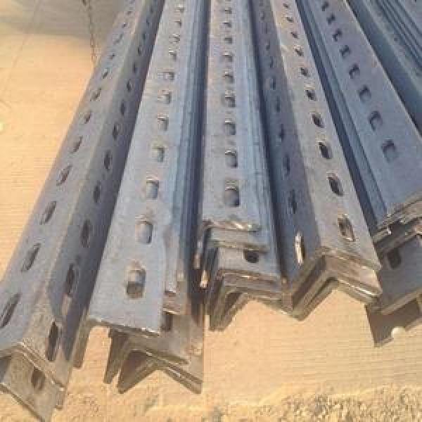 Ms Perforated L Shape Steel Bar BS En S355jr S355j0 Galvanized Slotted Steel Anglel Bar #1 image