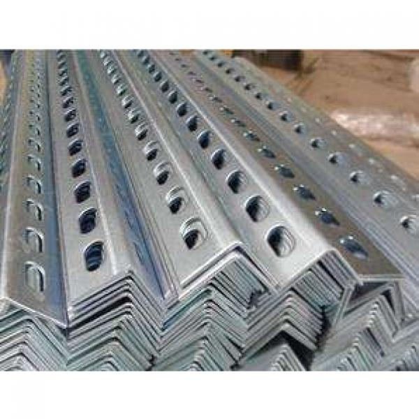 Building Material Perforated Galvanised Angle Steel Bar #3 image
