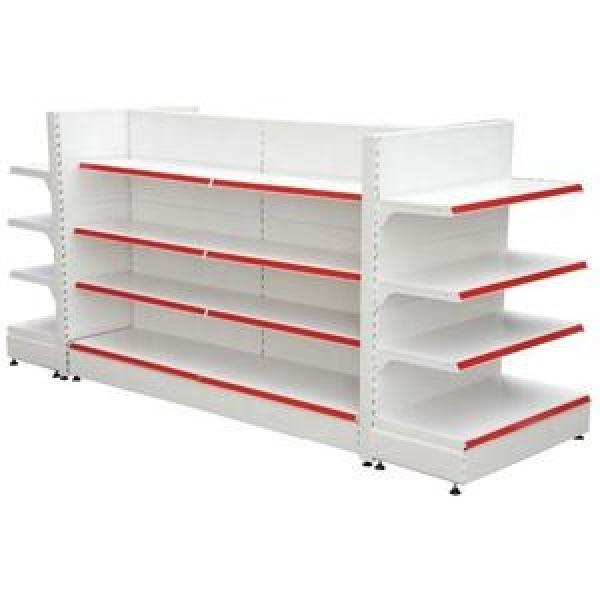 supermarket store metal steel double sided Grocer gondolay shop shelving Display shelving #2 image