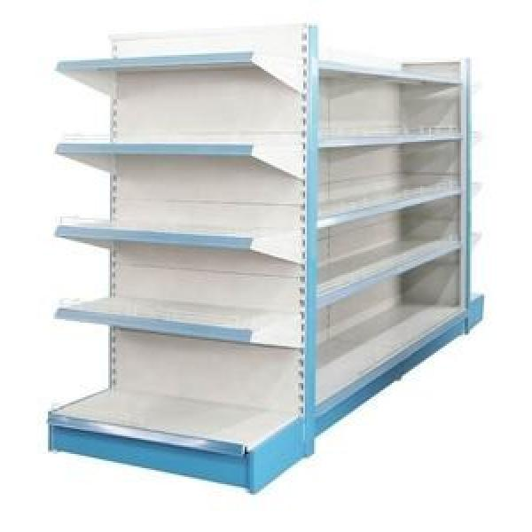 Top Quality Pop Up Metal Grocery Store Shelving Supermarket Shelf HS-HJ04 #1 image