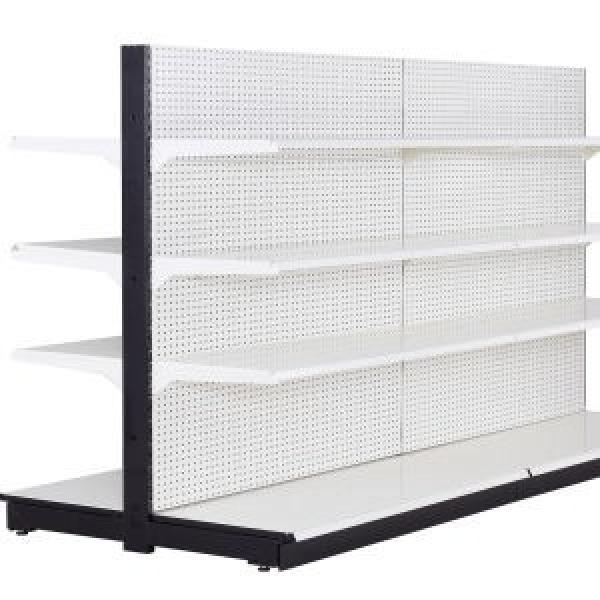 Top Quality Pop Up Metal Grocery Store Shelving Supermarket Shelf HS-HJ04 #3 image