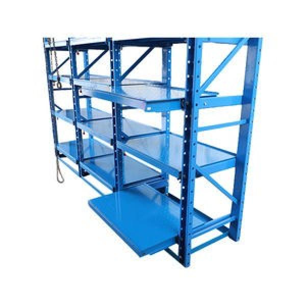 Heavy Duty solid sturdy warehouse factory storage iron rolling shelving pallet racks #3 image