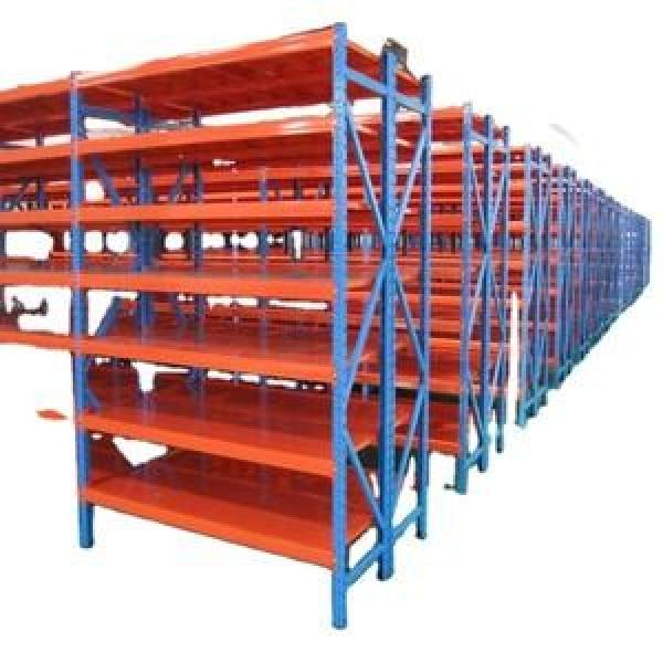 High Quality Storage Racking Warehouse platforms mobile racking warehouse storage fabric roll racks #2 image