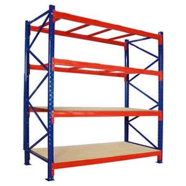 Heavy Duty solid sturdy warehouse factory storage iron rolling shelving pallet racks #2 image
