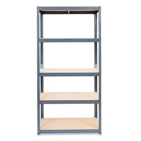 Slotted perforated metal shelving used storage racks #2 image