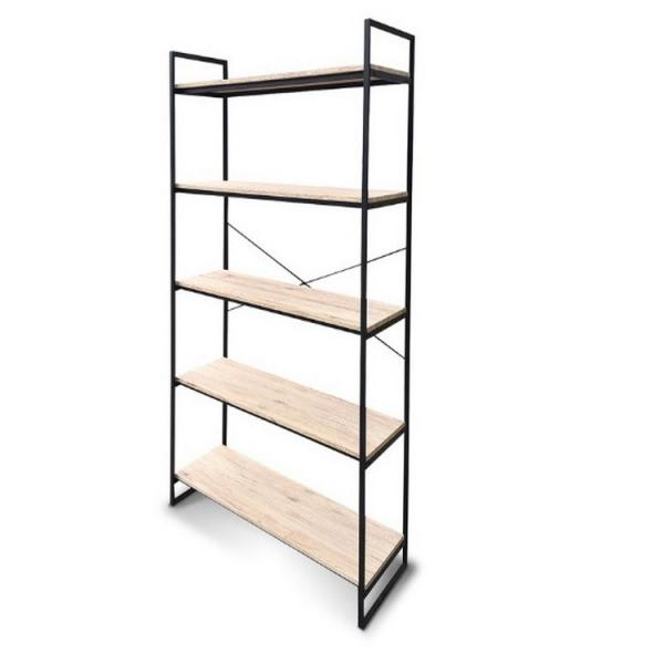 Anti-Rust Adjustable 5 Shelf Shelving Unit Steel Display Rack #2 image