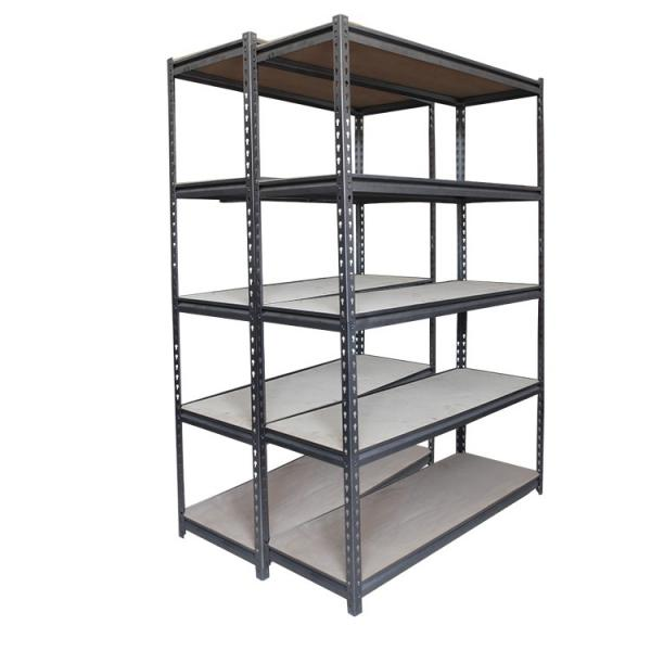 Anti-Rust Adjustable 5 Shelf Shelving Unit Steel Display Rack #1 image
