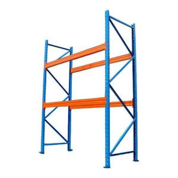Heavy duty warehouse storage pallet racking system #3 image