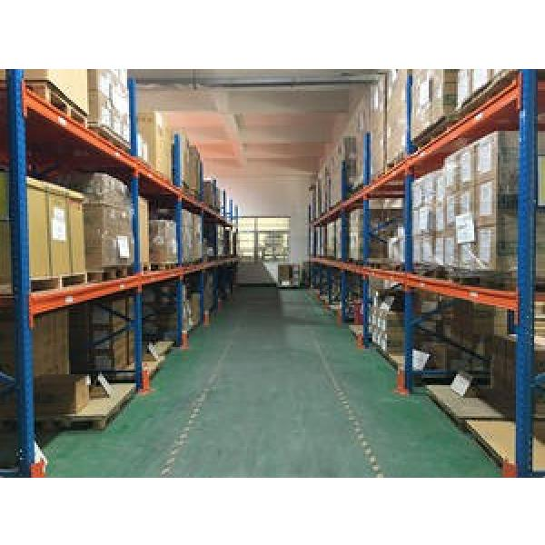 Heavy duty warehouse storage pallet racking system #1 image