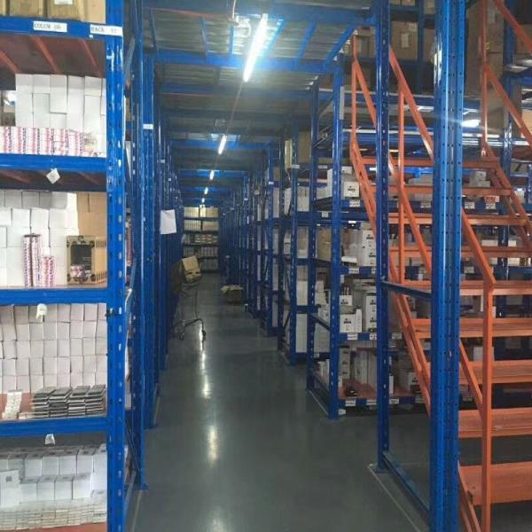 heavy duty metal industrial shelf steel shelving units #1 image