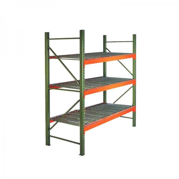 Hot new products industrial mobile pallet rack warehouse heavy duty wall shelving mounted wire price #3 image
