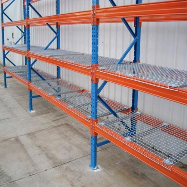 Hot new products industrial mobile pallet rack warehouse heavy duty wall shelving mounted wire price #2 image