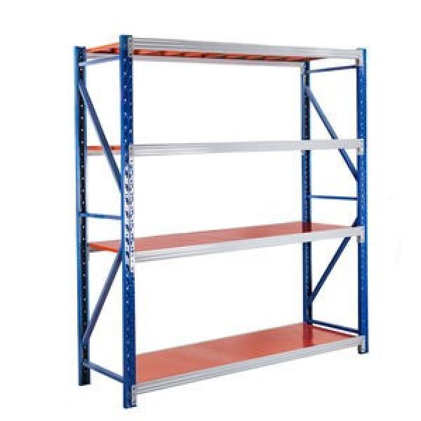 Powder coated vertical commercial cold storage steel cheap industry warehouse staking pallet tubular rack for storage #3 image
