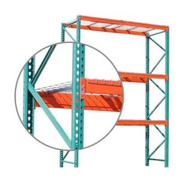Powder coated vertical commercial cold storage steel cheap industry warehouse staking pallet tubular rack for storage #1 image