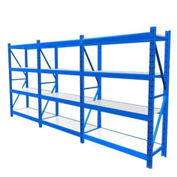 Powder coated vertical commercial cold storage steel cheap industry warehouse staking pallet tubular rack for storage #2 image