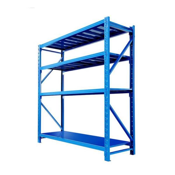 Warehouse fabric roll stackable roller racking systems barrel bucket tub For Mezzanine Shelf Shelves #2 image