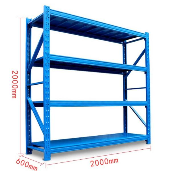 China factory hot selling stocking space welded hanging wire mesh steel warehouse storage pallet rack dividers #3 image