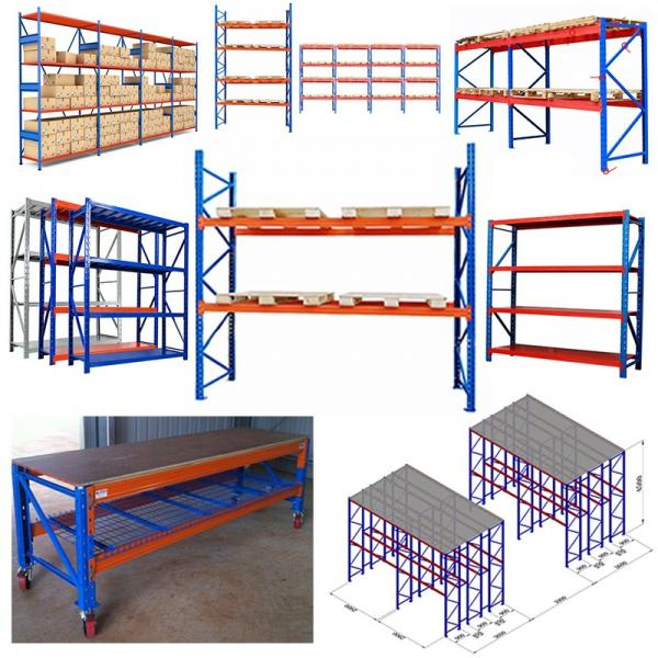 China factory hot selling stocking space welded hanging wire mesh steel warehouse storage pallet rack dividers #1 image